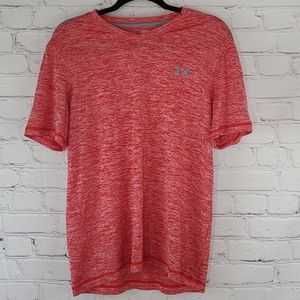 Under Armour Red Loose Fit Short Sleeve Tshirt
